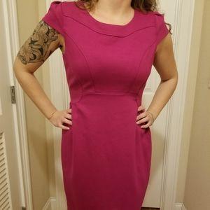 Taylor dress size 10 Fuchsia